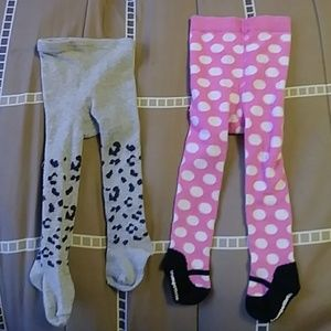 Other - Baby girl tights
